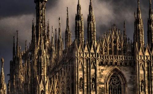 УНИЧТОЖЕНИЕ ХИМЕР... Уничтоженный Нотр-Дам - как символ осатанения постхристианской Европы