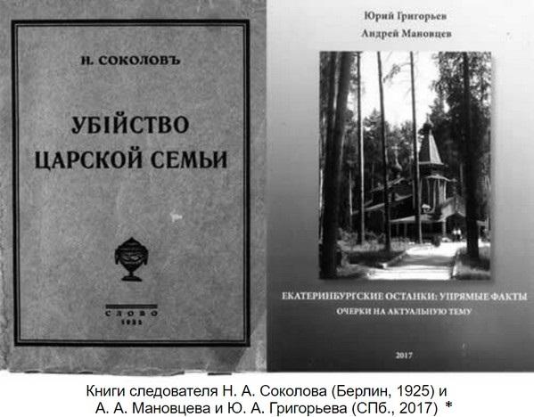 Упрямые факты в деле с «Царскими» останками: Беседа с А.А. Мановцевым, обличающая версию современного следствия